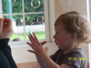 bubble celebration