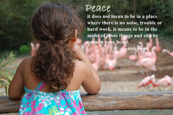 peace/insight from a woman's heart