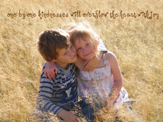 kindness/insight from a woman's heart