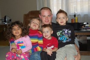 my nephew, my sister's grand babies and neice