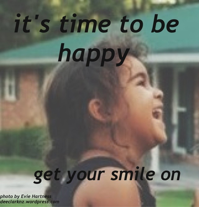 it is time to behappy