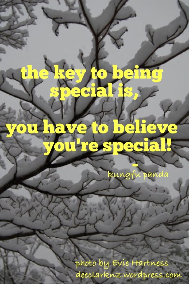 The Key To Being Special