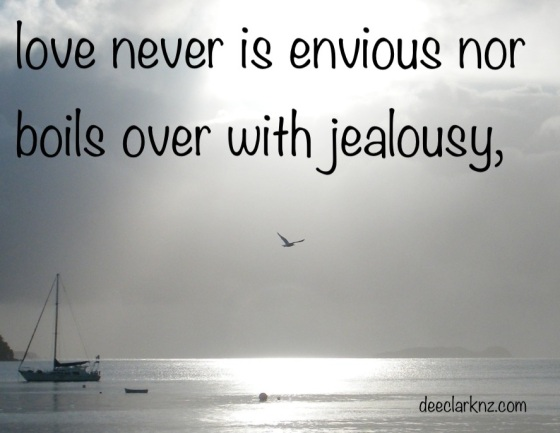 love is never envious/insight from a woman's heart
