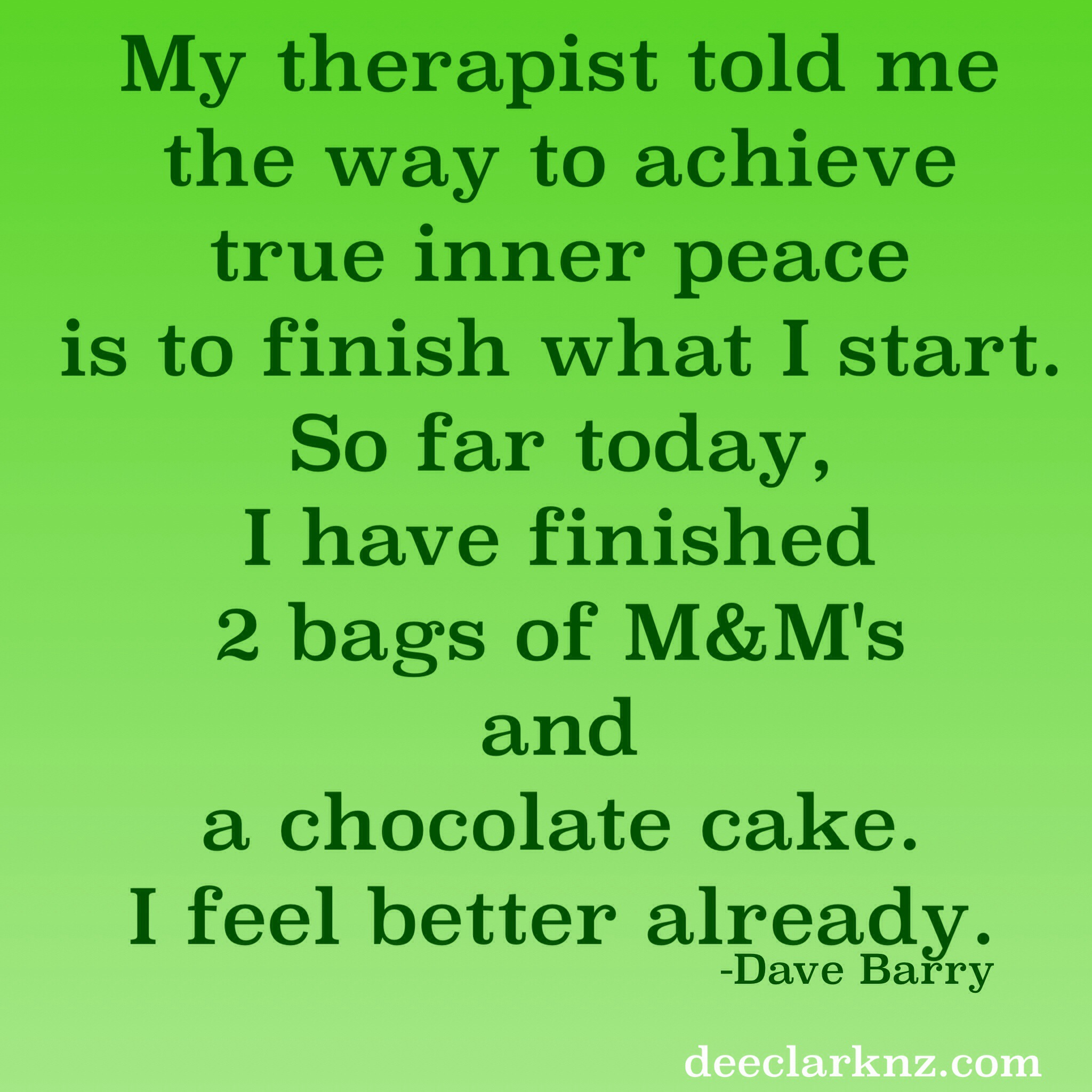 the best way to achieve true inner peace (humor)