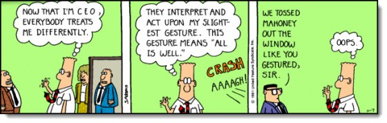 Morning Story and Dilbert